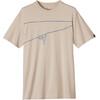 Prana M's Climb The Line T-Shirt Stone